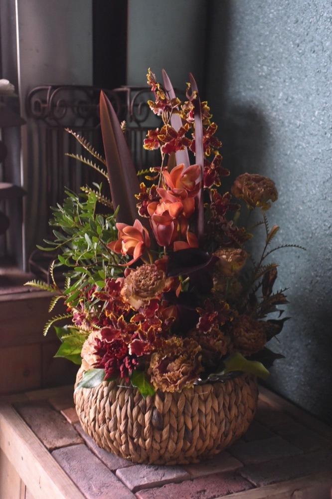 ネイル・エステサロンご移転祝いのお花|
