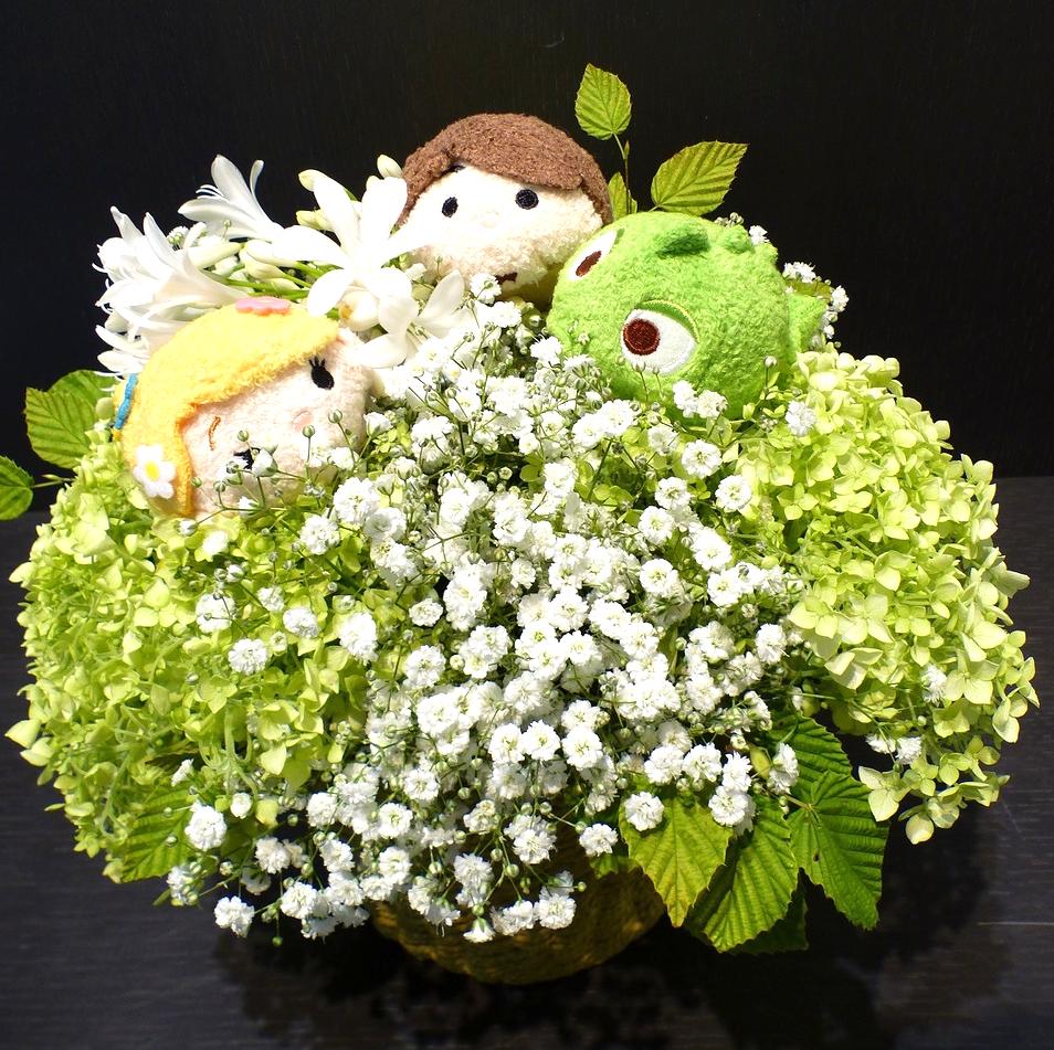 アルバム発売記念の祝い花