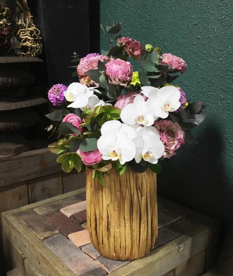 弁護士事務所さまに贈られたご移転祝い花|