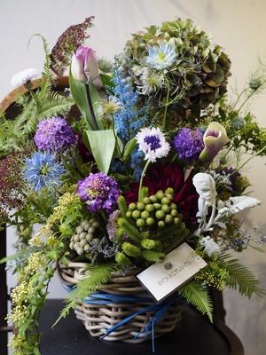 雑貨店oniwaさま開店の祝い花|